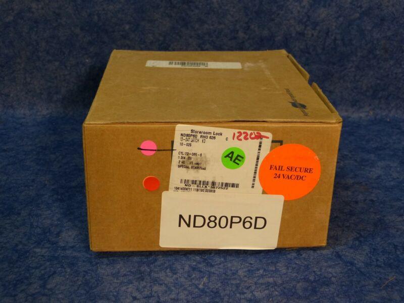 Schlage ND80P6D Heavy Duty Storeroom Lock with Cylinder