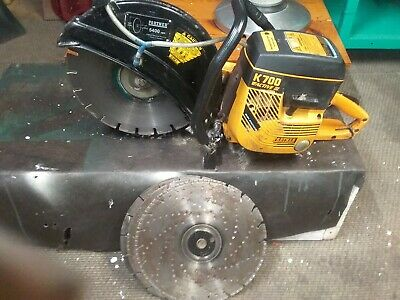 Partner Concrete Saw K700 14 With 4 Blades