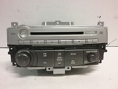 07 08 09 Mitsubishi Galant CD radio receiver OEM  8701A045  DY-3U67U