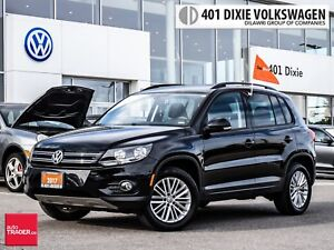 2016 Volkswagen Tiguan Special Edition 2.0T 6sp at w/Tip 4M LOW