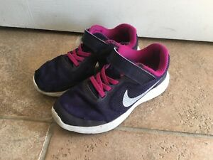 Pink & purple girls size 12 Nike sneakers