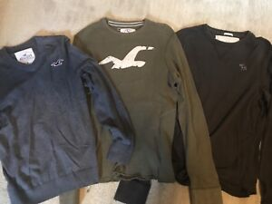Hollister and A&f sweaters