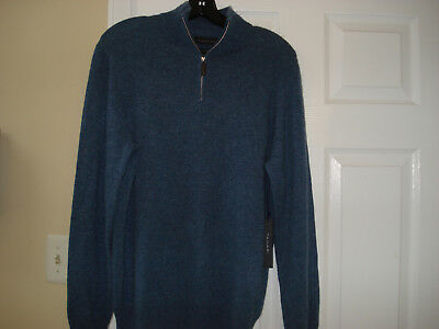 New Mens Cashmere Sweater - TAHARI   MENS  100% CASHMERE   SWEATER SIZE-LARGE-  NWT