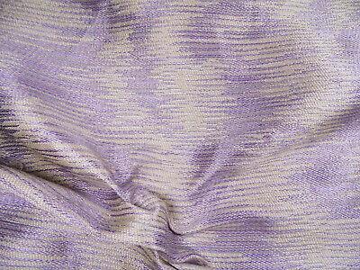 Robert Allen Beacon Hill Fabric Water Meadow Lilac Silk Upholstery Drapery *J28 Robert Allen Drapery Fabric