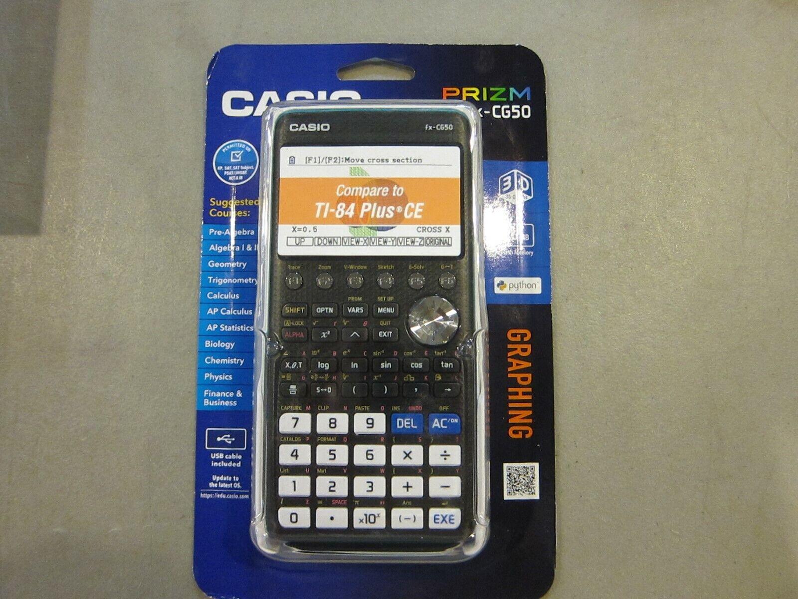 Casio Prizm Fx-CG50 Graphing Calculator - BRAND NEW SEALED -