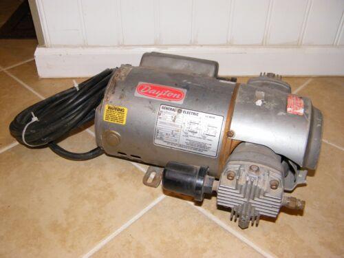 GENERAL ELECTRIC GE: 3/4 HP AC MOTOR, 5KC47RG1535X, PUMP, 115/230, 1 PH, M500DX