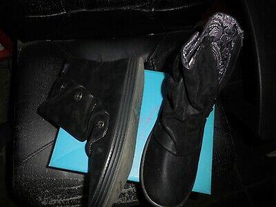 [2641]schoenen zo goed als nieuw,halfhoog, bottines, korte laarsjes maat 41