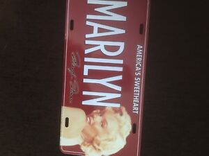 Marilyn plate collectable