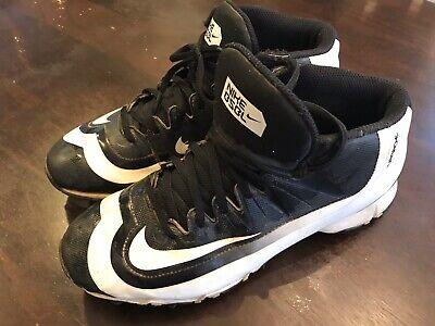 Boys Baseball Cleats Size 6 Y Nike Hurache Good Condition