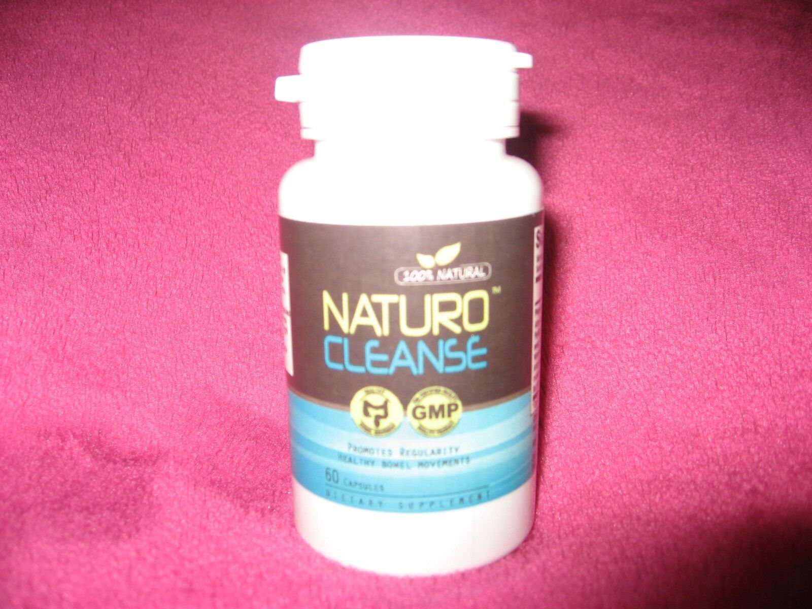 Naturo Cleanse- NEU - starkes Mittel zum Abnehmen, 60 Kapseln, 100% Natural