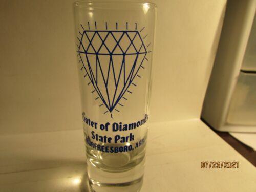 Crater of Diamonds State Park- Murfreesboro, Ark.- Shooter Shotglass-new