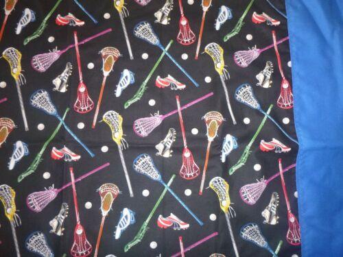 Lacrosse Equipment Cotton Fabric Design standard handcraft pillowcase