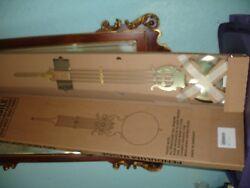 Brass Pendulum Grandfather  Clock part Hermle Germany Made B021-02830 NEW