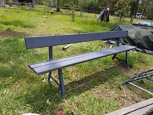 Mega 2.75m long railway station bench seat Joyner Pine Rivers Area Preview