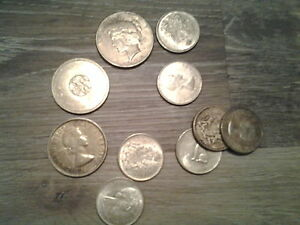 BUYING coin collections, silver coins, Bars, RCM coins, GOLD +++