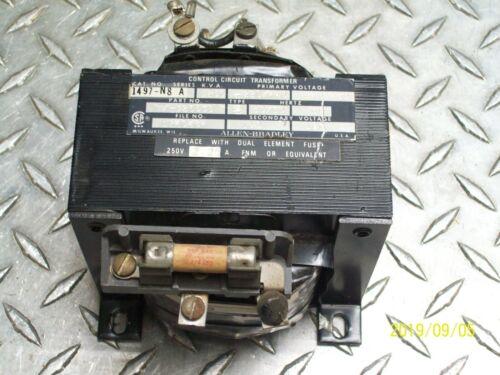 ALLEN BRADLEY 1497-N8 .250 KVA CONTROL CIRCUIT TRANSFORMER