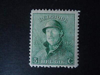 Belgique Belgîe Belgium year1919 -  cob:167 MH*