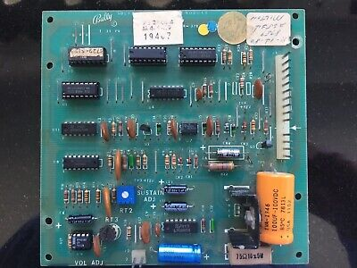 Bally Pinball Sound Board AS-2518-50 For Dolly,  Paragon,  Harlem Globetrotters