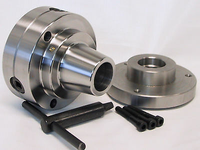 5c Collet Chuck Closer With Semi-finished Adp. 1-12 X 8 Thread