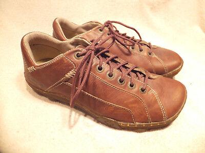 Dr Martens Tennis Shoes (Dr Marten Brown Leather Tennis Shoes UK 8 / US Men 9M/ US Women 10M Quite Good)