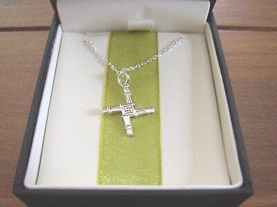 St  Brigids Cross  925 Sterling Silver Necklace  Jmh Jewellery  Dublin  Ireland