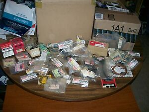 YAMAHA HONDA NOS PARTS LOT   MOSTLY YAMAHA  SOME VINTAGE   5 1/2 LBS