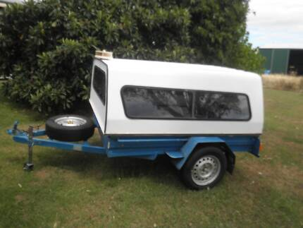 Box trailer with canopy Toowoomba Surrounds Preview