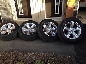 """RAM 1500 20"""" Rims and Tires"""