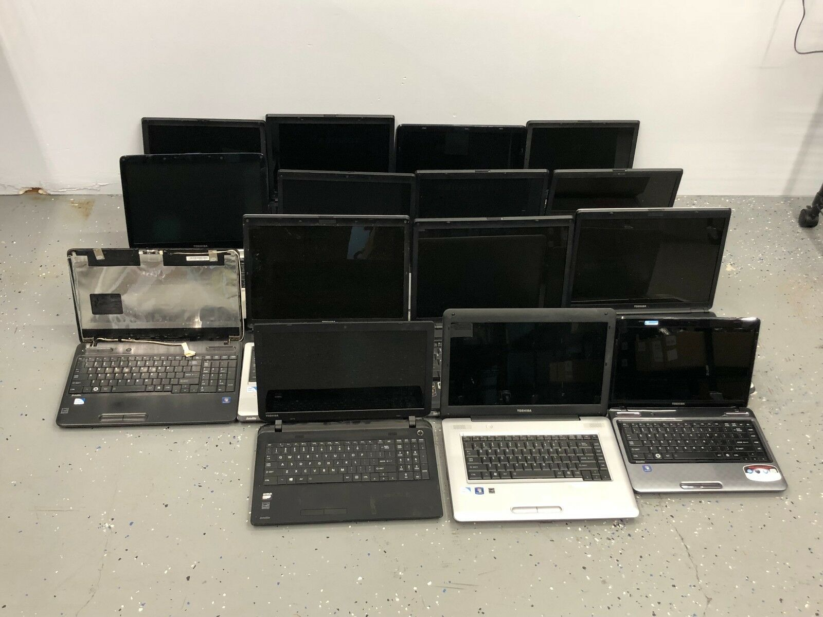 15 x Lot Toshiba Satellite C55D L655D L455 L745 AS IS PARTS REPAIR