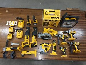 Used Dewalt 18V Tools