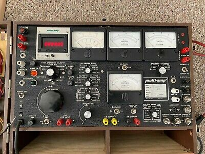 Multi Amp Sr-51a 120v 10 Amps F.l. 60 Hertz With Extras