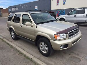 2001 NISSAN PATHFINDER LE 3.5 FULLY LOADED 4X4