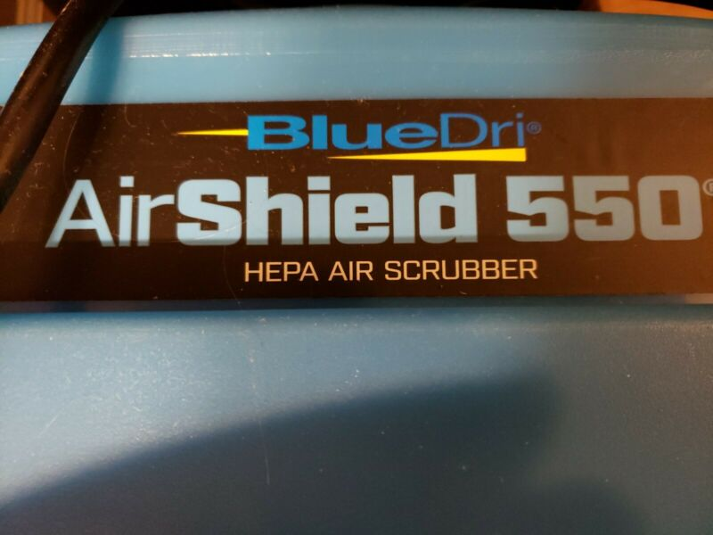 BlueDri BD-AS-550-BL Negative Machine Airbourne ITEM IS NEW WITHOUT ORIGINAL BOX