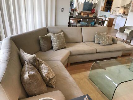Large 7 seater sofa. Custom made.