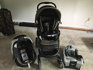 Graco Snug ride Click Connect Travel System