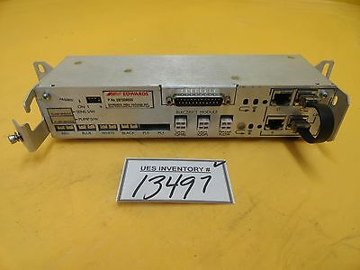Edwards D37208000 Iqdp40 Vacuum Pump Electrics Module Warning 5413 Tested Used