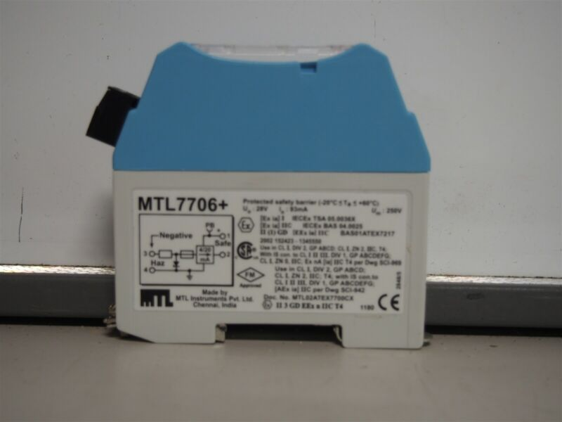 MTL Instruments MTL7706+ Protected Safety Barrier