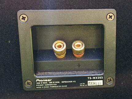 Pioneer ( TS-WX303 ) Bass Reflex Subwoofer
