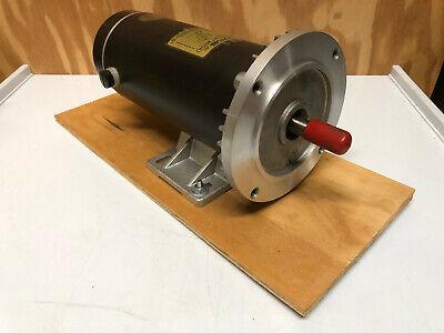 12 Hp Dc Permanent Magnet Motor 180vdc 1800 Rpm 56c Frame C Face Tenv