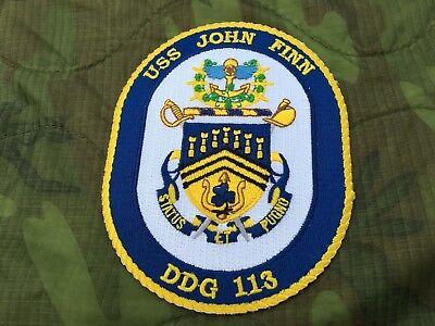 USS JOHN FINN DDG-113 PATCH
