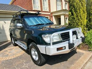 1998 TOYOTA LANDCRUISER 105 SERIES DUAL FUEL