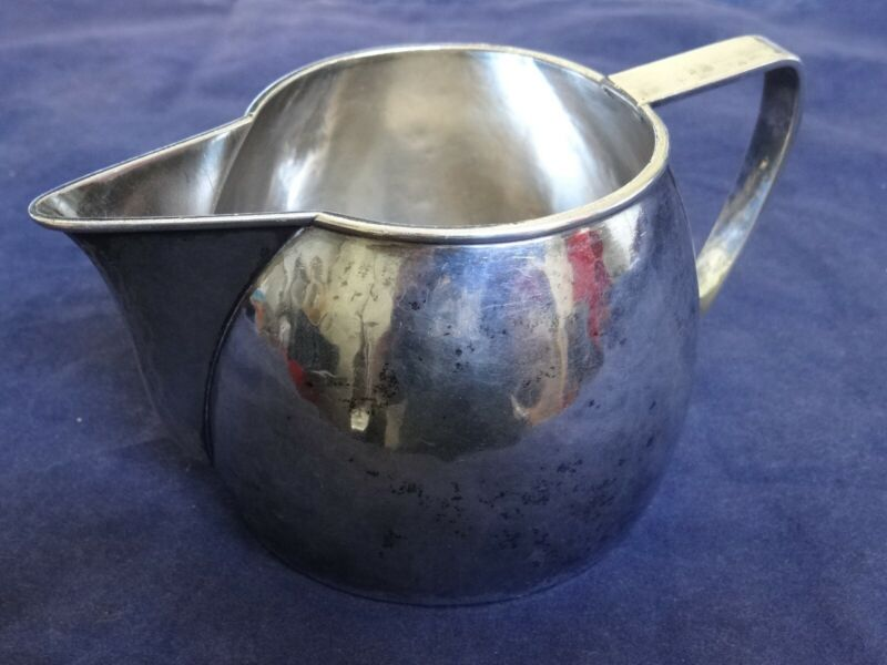 Rare Fine Antique Sterling Silver Hand Beaten Kalo Pitcher Early Mark 1909-1911