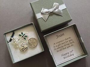 LUCKY SIXPENCE CHARM, 70th, BIRTHDAY GIFT, PERSONALISED, 1947 COIN