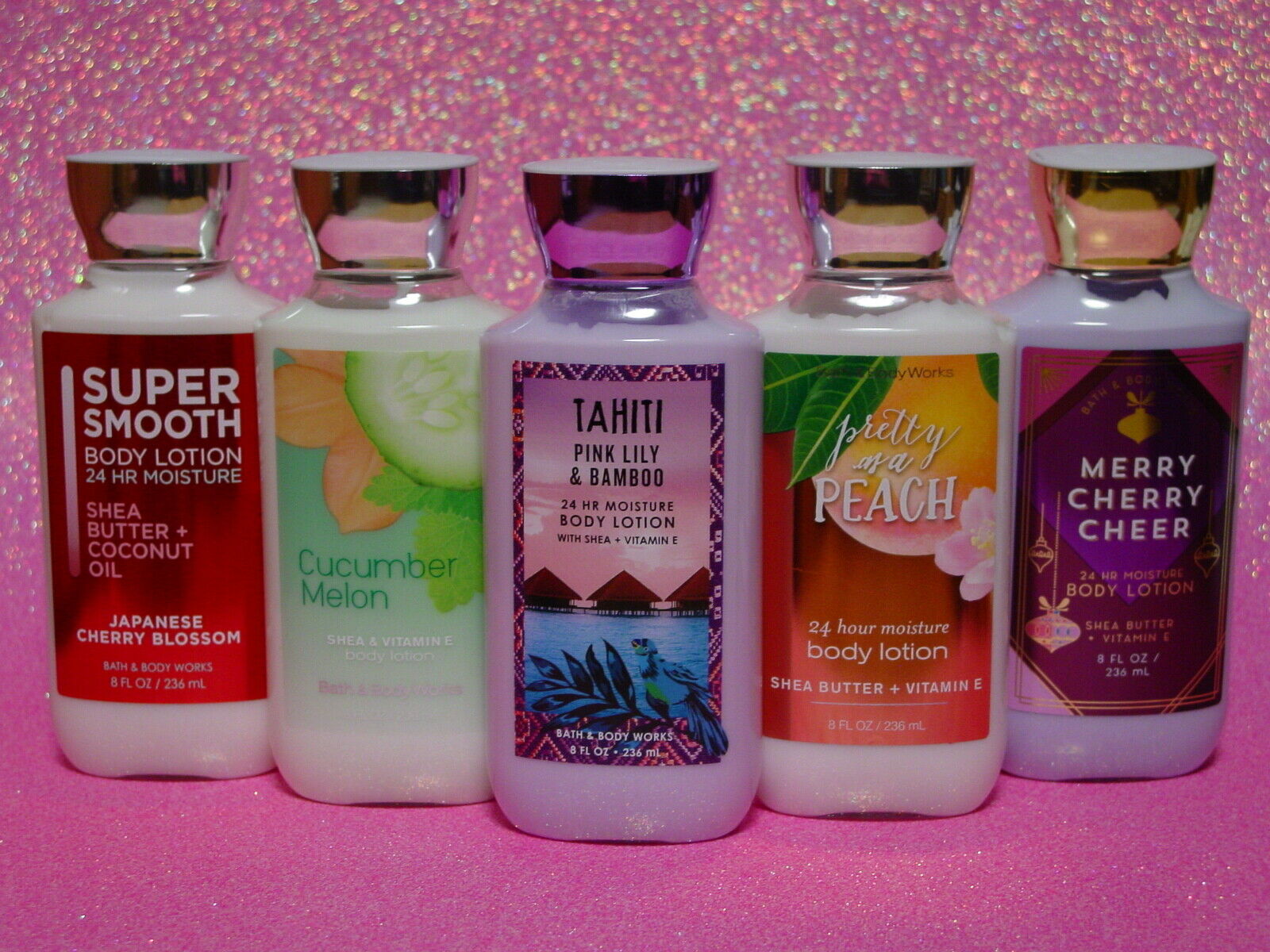 BATH & BODY WORKS BODY LOTION 8 OZ. SINGLES EVERYDAY, SPRING