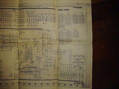 Vintage Bally Twist Pinball Electrical Schematic