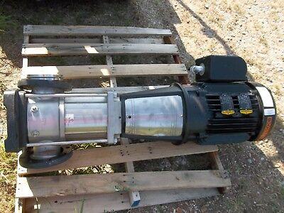 Grundfos Pump W Baldor Motor 25hp Crn90-2-2 A-g-g-e-kuhe 3530rpm Rh