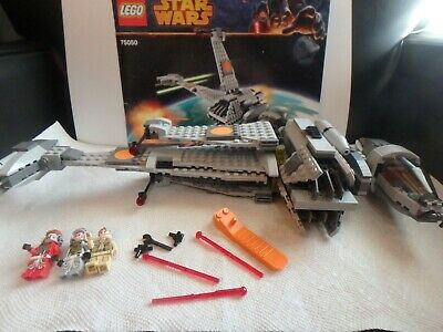 LEGO 75050 Star Wars B-Wing Starfighter 100% Verified Complete Mint Retired
