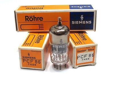 3x Siemens TV Radio Röhre PCF86 PCF 86  Valve Tube Radioröhre Elektronenröhre