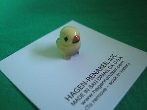 Hagen-Renaker-Bird-Baby-Tweetie-Yellow-Figurine-Miniature-4951-Ceramic-NEW