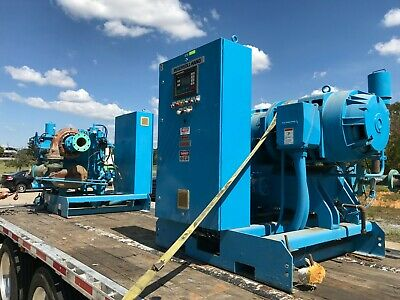 Ingersoll-rand Air Compressor - Centac Centrifugal 200hp - 2 Units Available